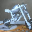 Homemade Tiny MotorBike Model