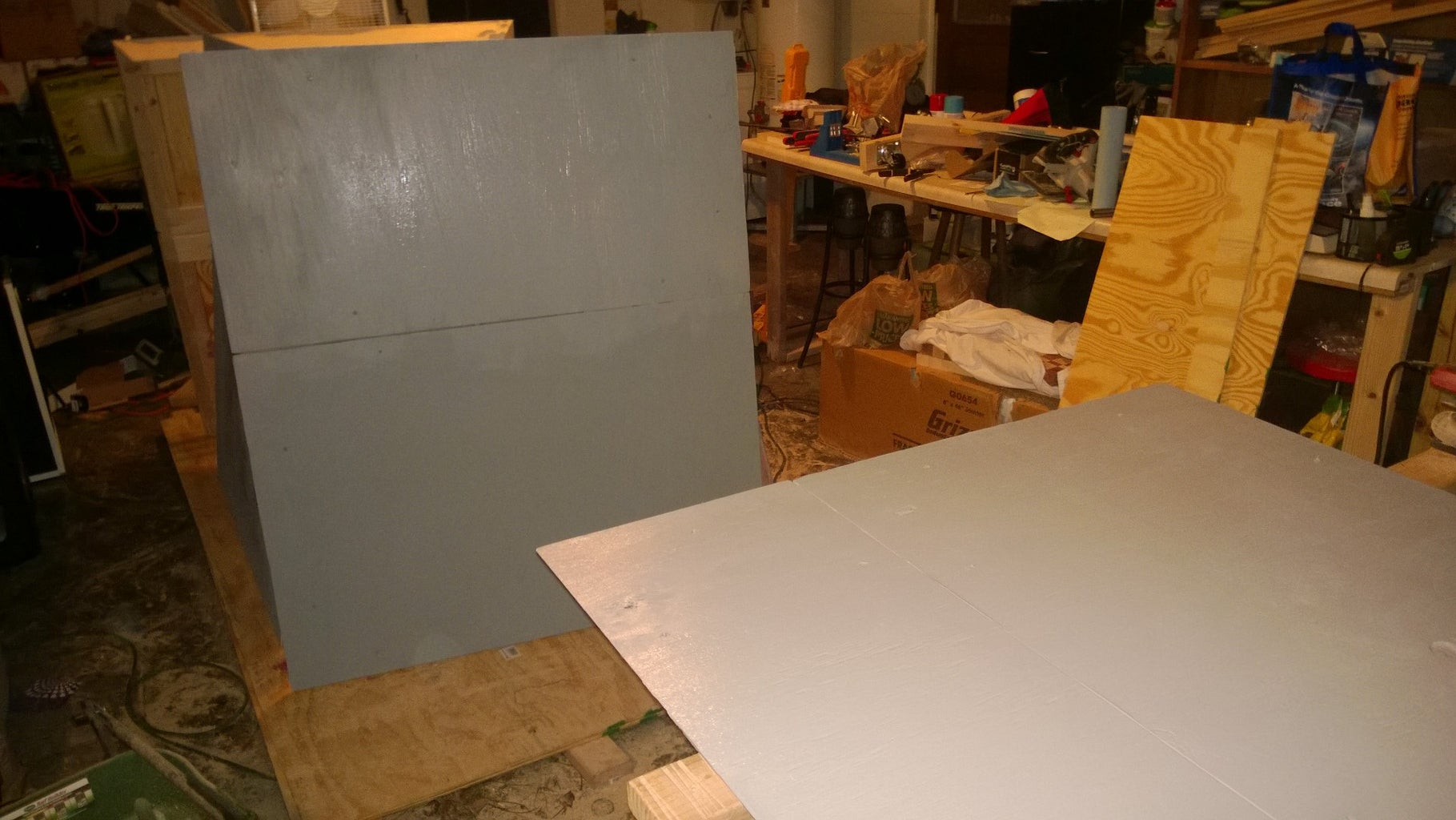 Painting and Side Assembly