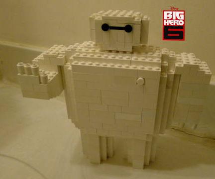 Lego Baymax from Big Hero 6