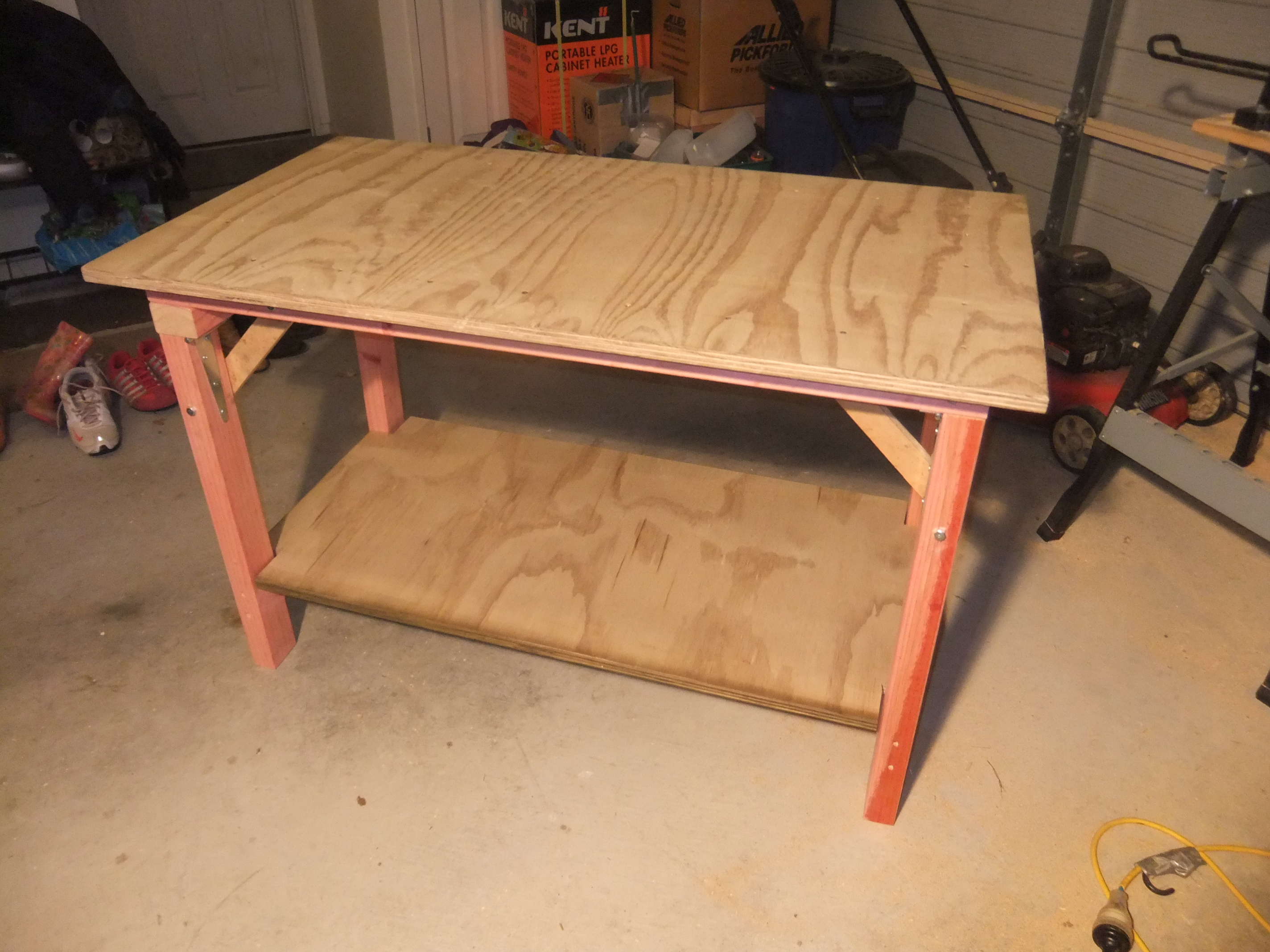 Portable Timber Workbench