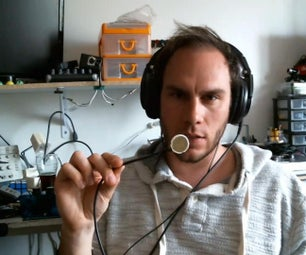 Homemade Piezo Microphone