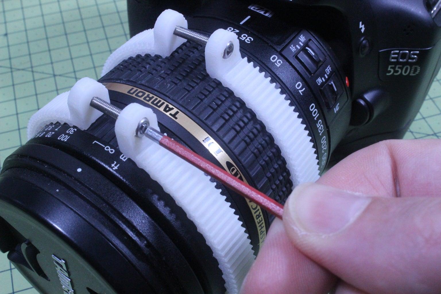 Fitting the Lens Rings