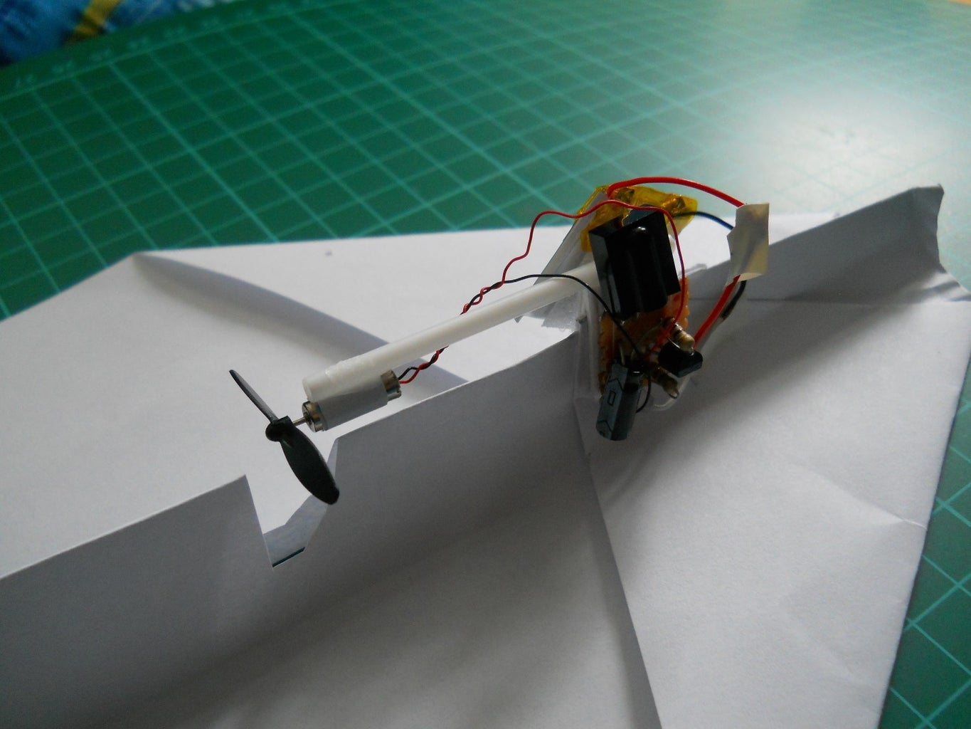 TV Remote Controlled Paper Planes