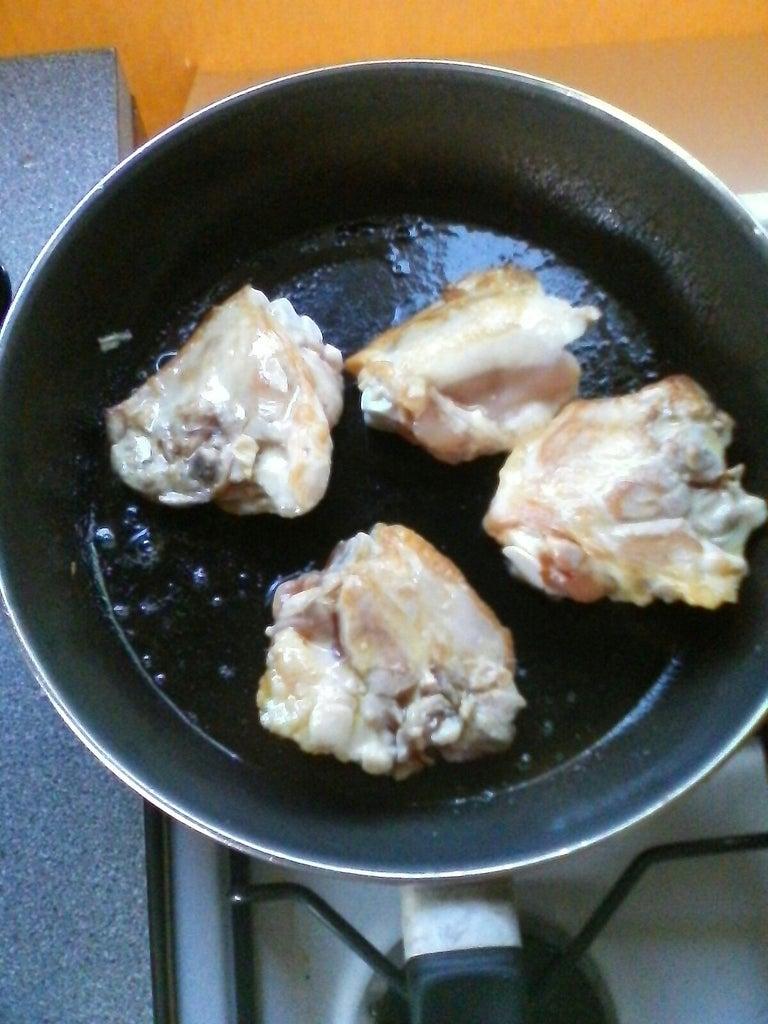 Chicken . . .