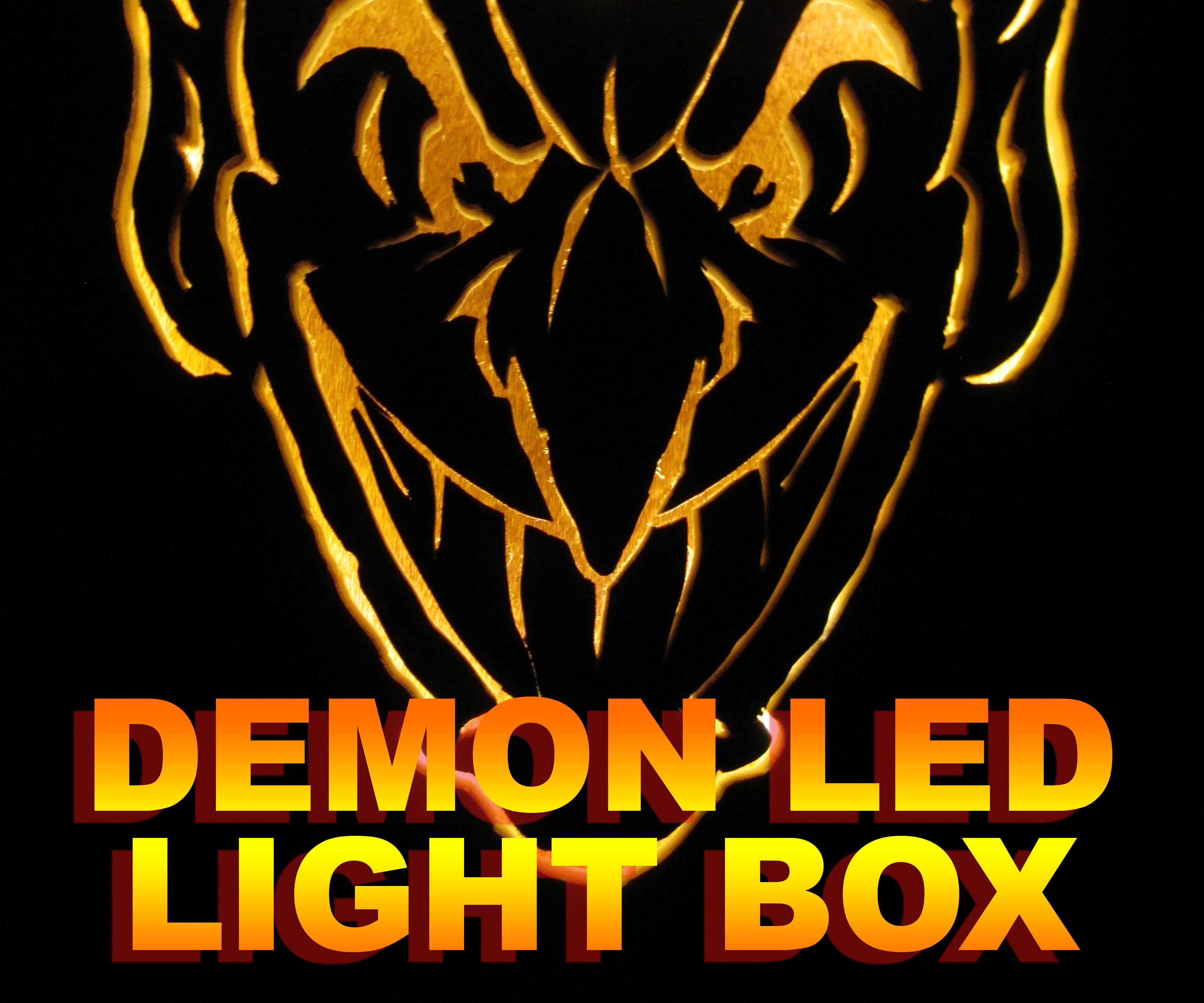 Demon LED Light Box