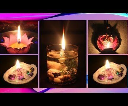 DIY Stylish Designer Candles