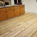 How to Lay Fiber Rock or Hardy Backer and Get Ready to Lay a Tile Floor.