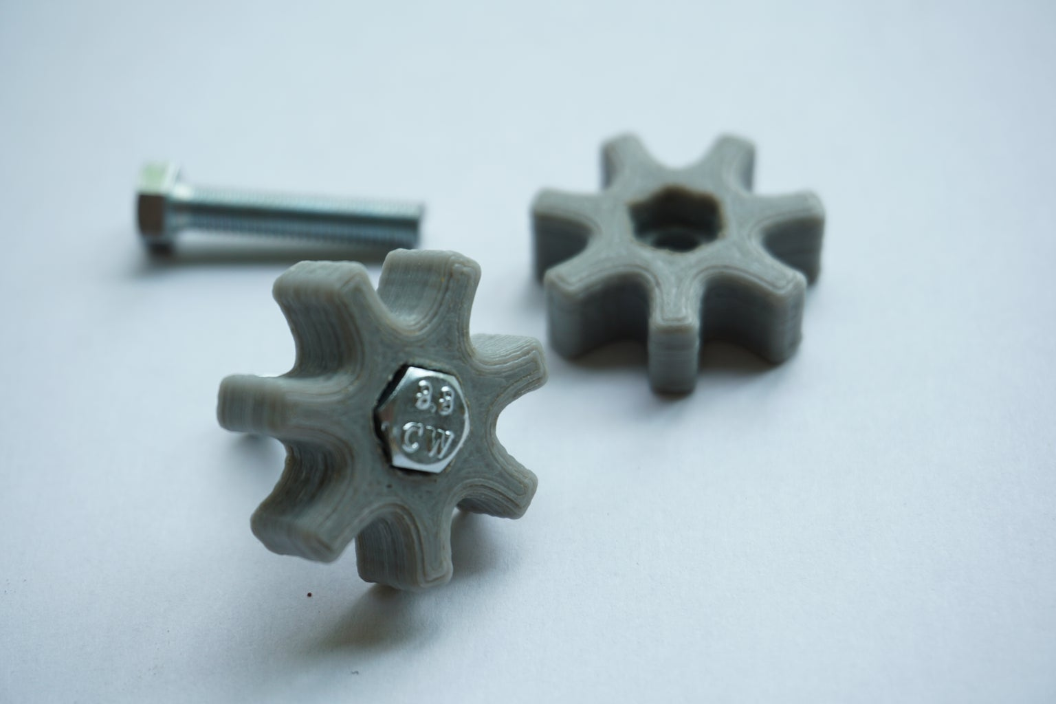 3D Printed Screw Aid