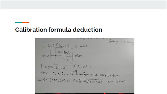 Calibration Using Differentiation and Formula Deduction