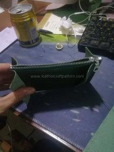 Sew Gusset on Inner Zipper Pouch.