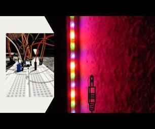 Non-Addressable RGB LED Strip Audio Visualizer