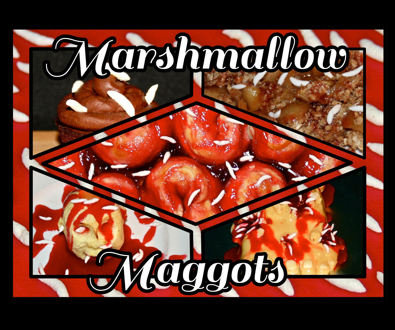 Marshmallow Maggots