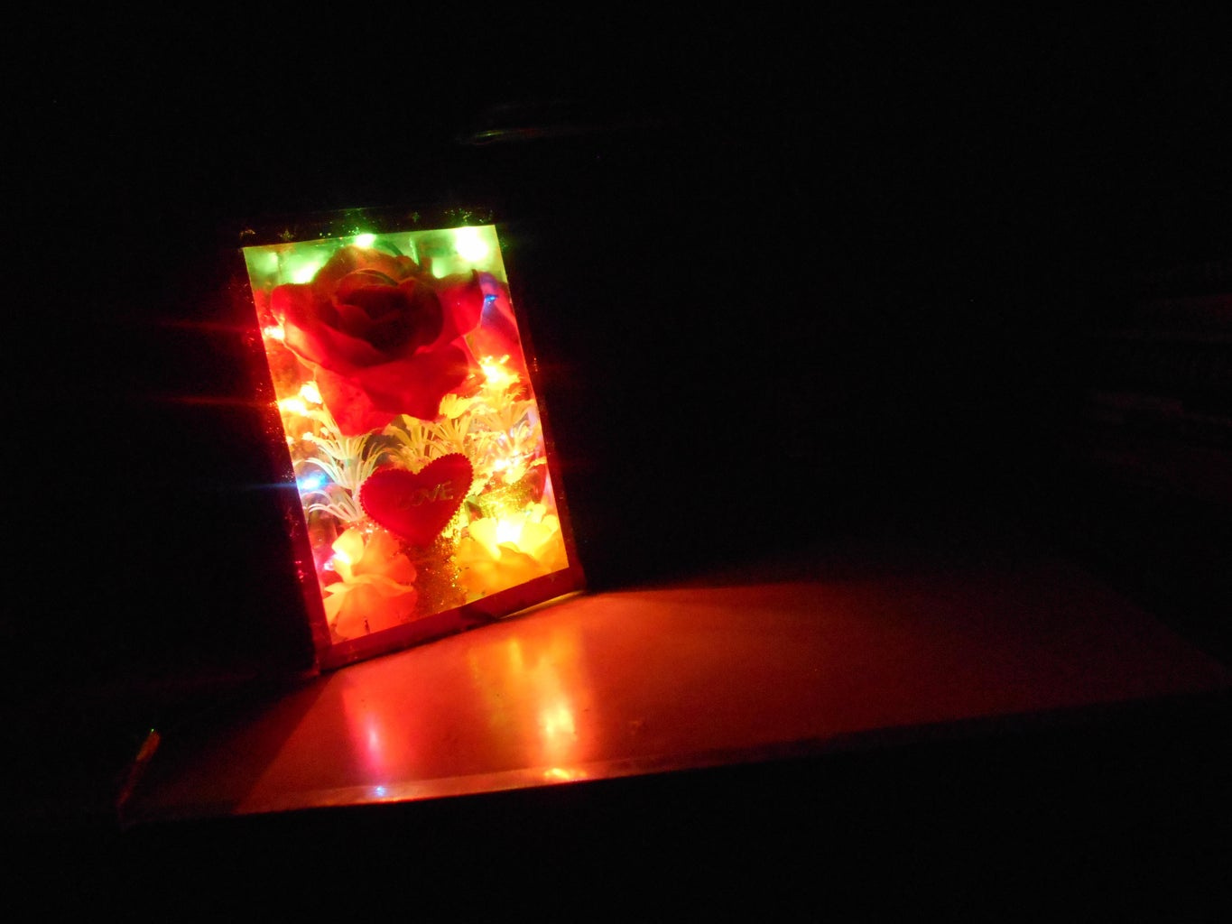 Now Your Night Glass Lamp Is Ready