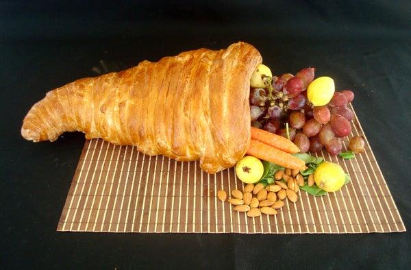 Bread Cornucopia Thanksgiving Centerpiece