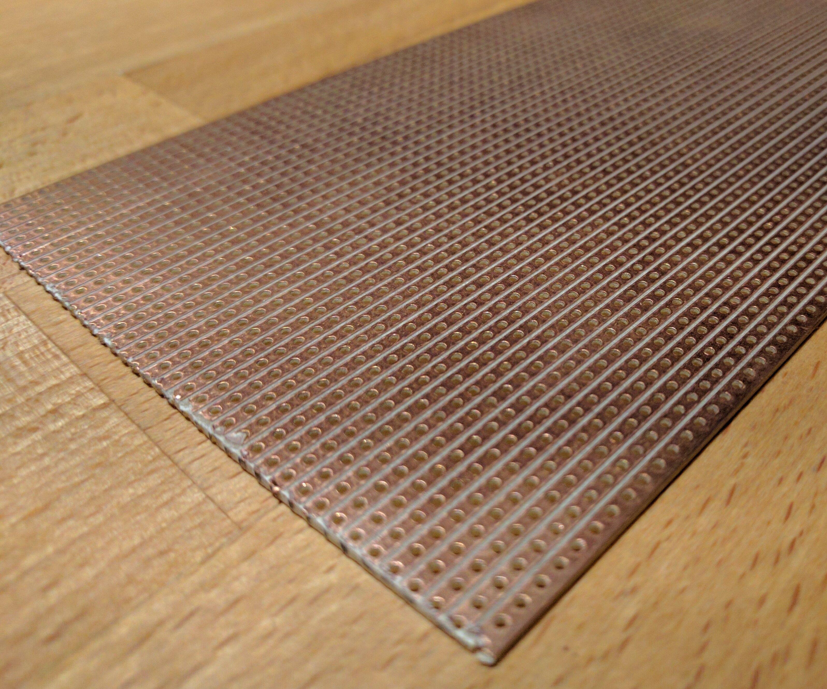 Stripboard PCB design