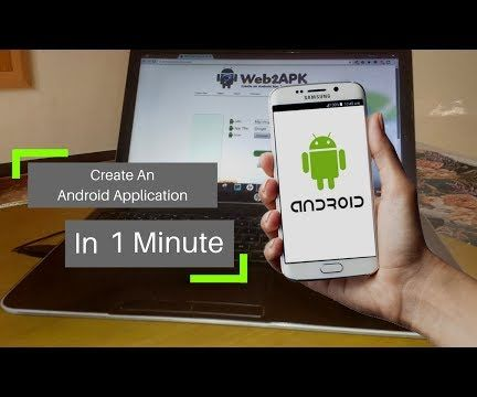 Creating a Android Application in 1 Minute