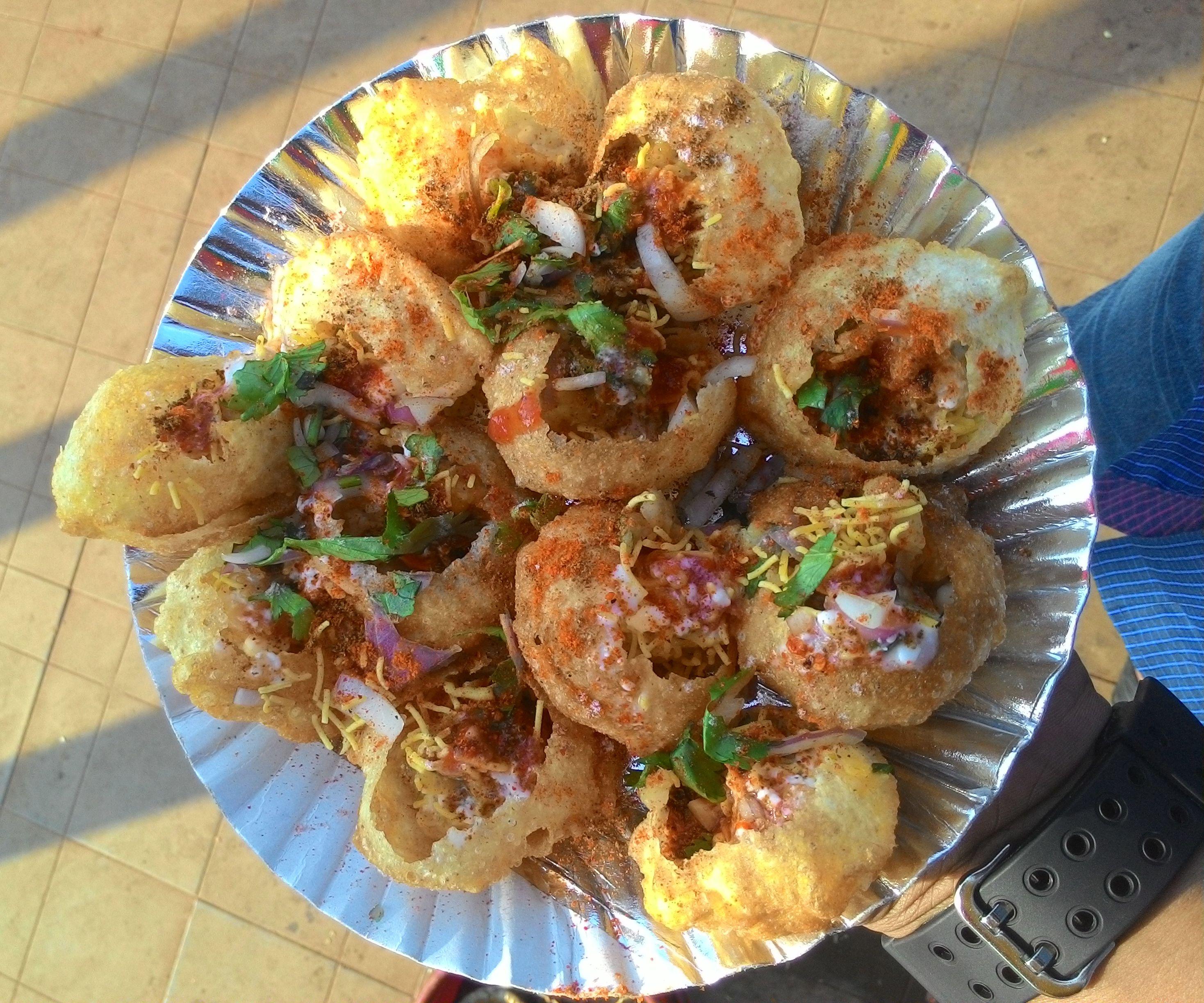 Date Night Contest:- Making Pani Puri