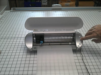 Load the Vinyl Into the Plotter