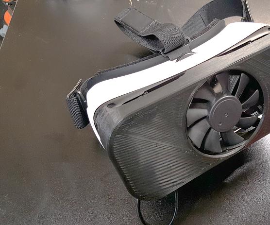 Samsung Gear VR Fan Cover