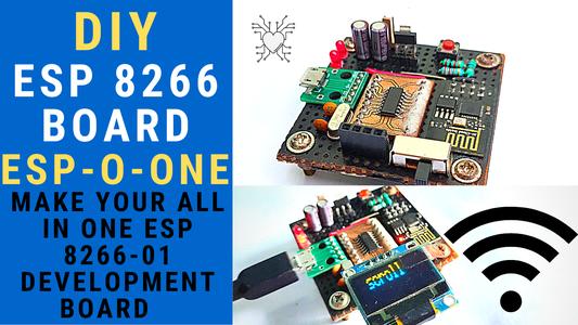 ESP-O-One : Making Your Own ESP Development Board!