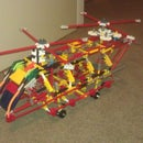 KNEX D-47 Chinook Helicopter