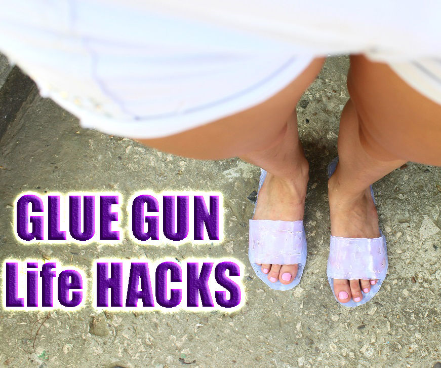 How to make 3 Amazing Life Hacks with hot glue gun