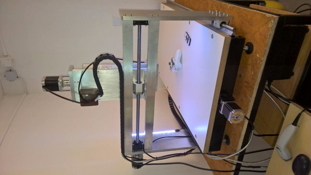 CNC Machine With  Camera  and LED Backlight