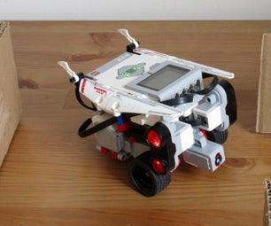 AI in LEGO EV3 Maze-Driving Robot