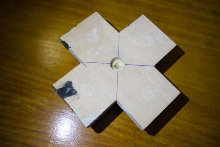 Glue Buttons Pieces  and Pivot System