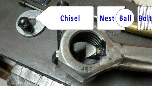 Chisel & Ball Bearing Nest