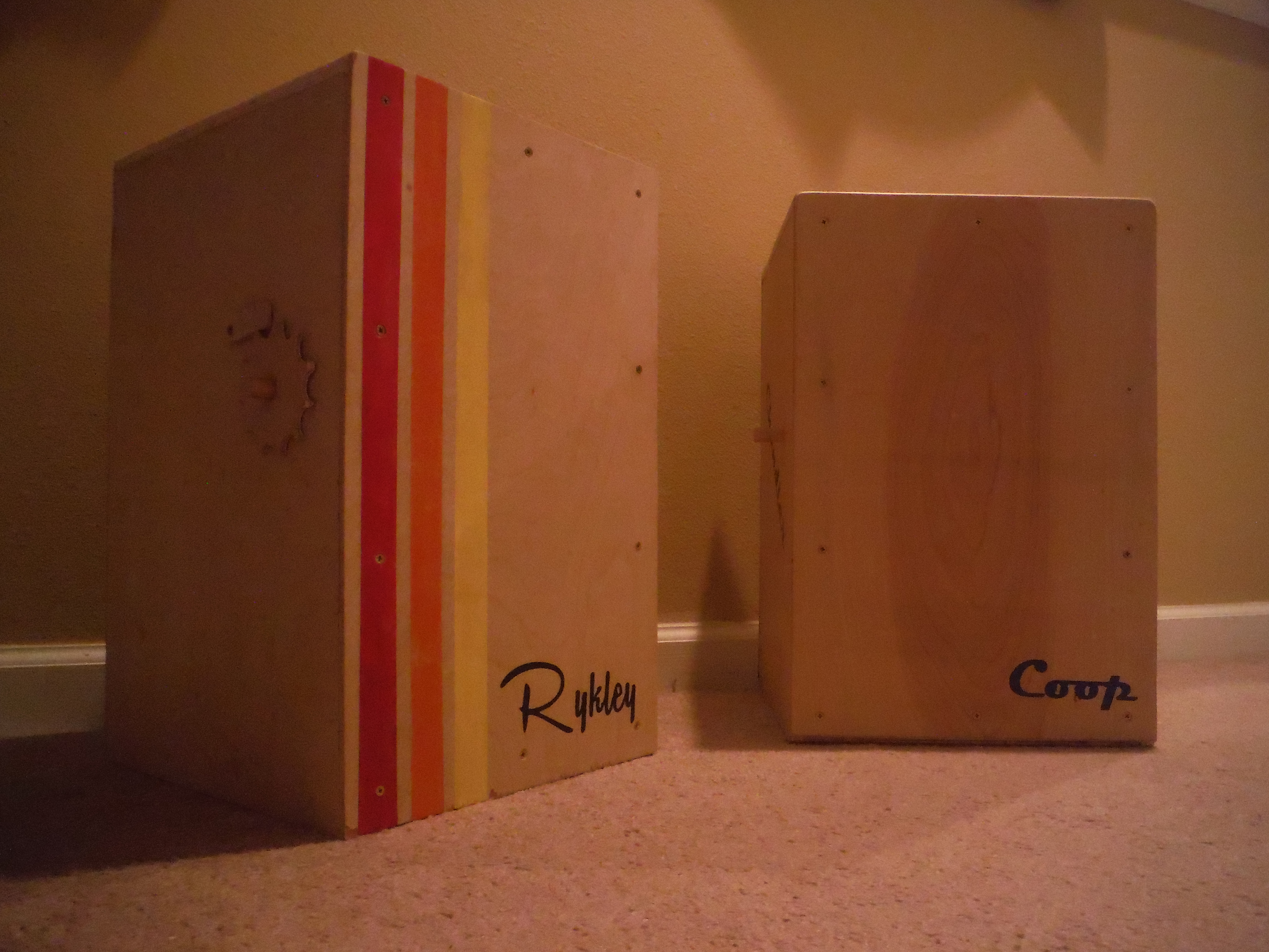 How To Build Your Own Cajon Box Drum With Adjustable Snare