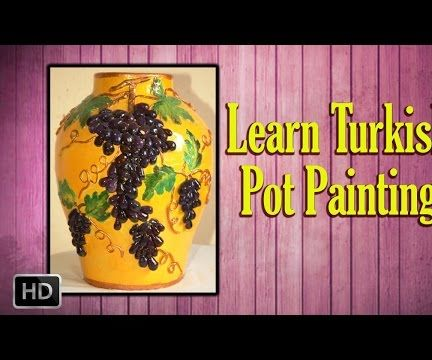 Learn Turkish Pot Painting - Basic Painting Techniques