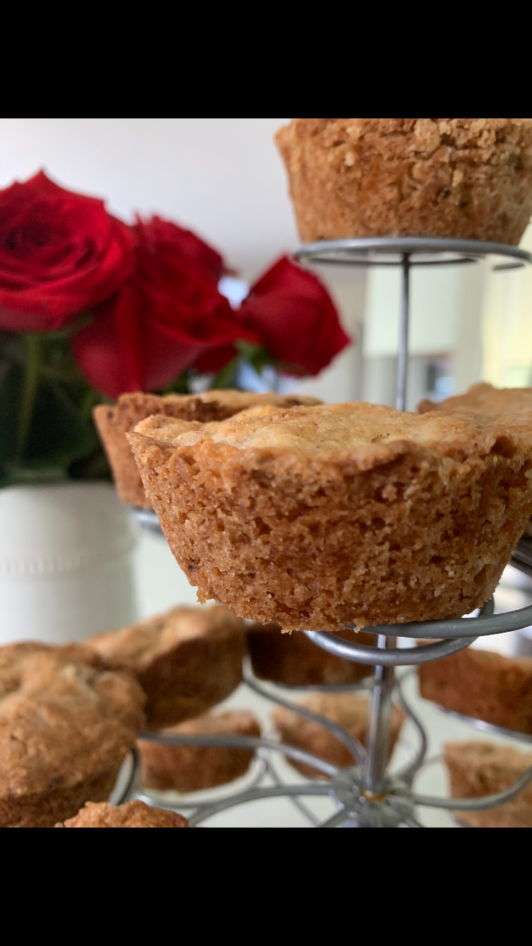 Muffin Tops Should Be a Light  Golden Brown, If They Are, Place Muffins on a Cooling Rack for 7 -10 Minutes! Bite in & Enjoy!!!!!!