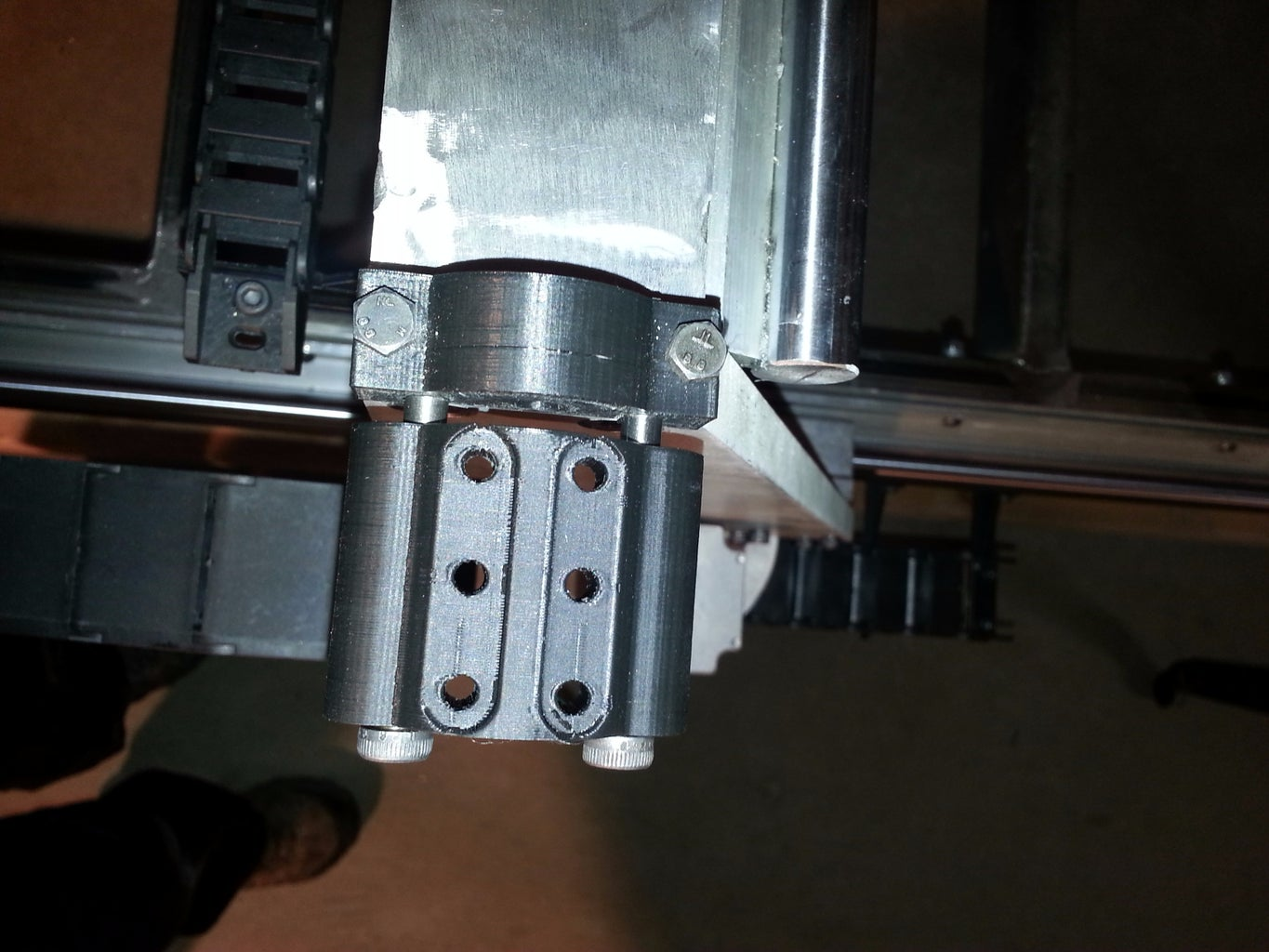 Affixing and Tensioning the Belts
