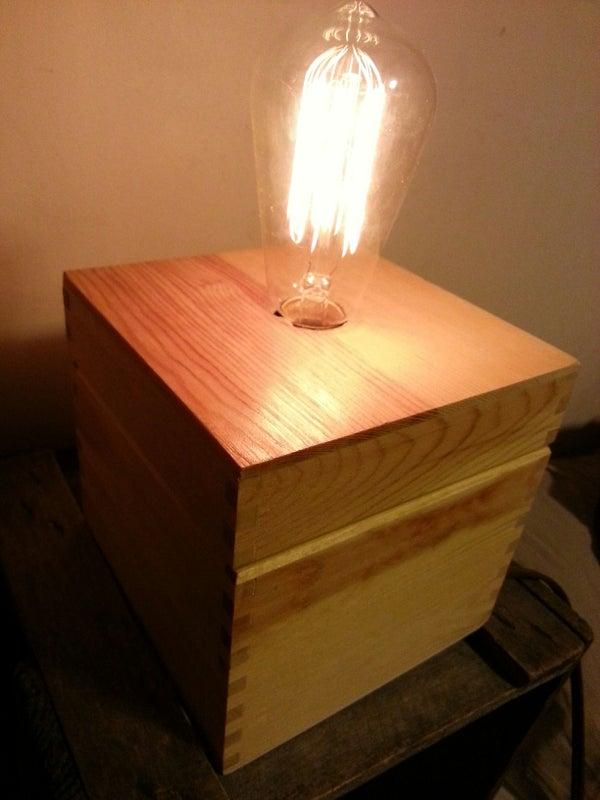 Simple Box Lamp