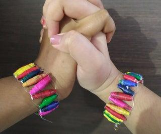 DIY Friends Forever Bracelets!!!