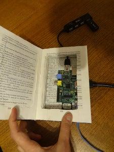Secret Book Case for Raspberry Pi