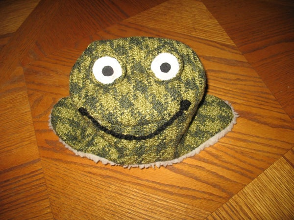Quick and Easy Frog Hat
