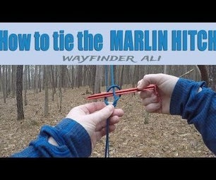 How to Tie a Marlin Hitch- Pull a Rope You Can't Get a Grip On