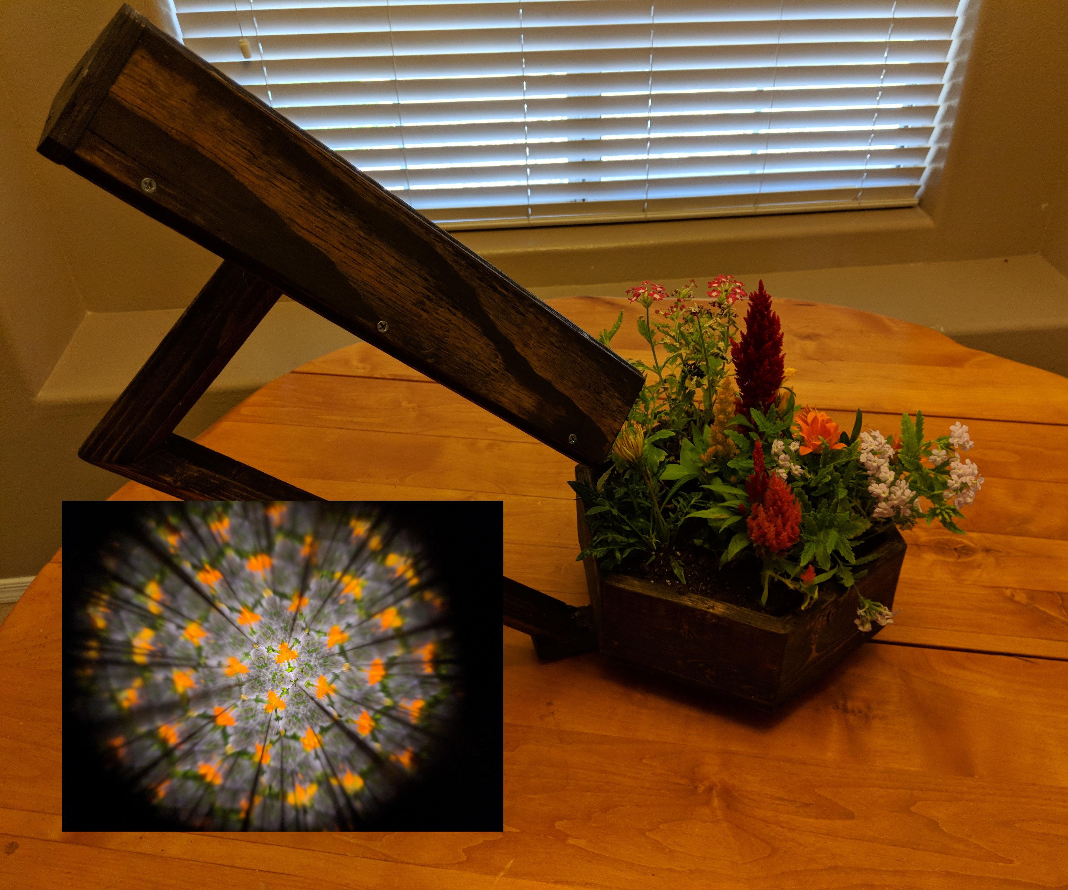 Tabletop Kaleidoscope Planter