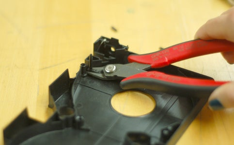 Trim Insides to Allow Hinged Movement