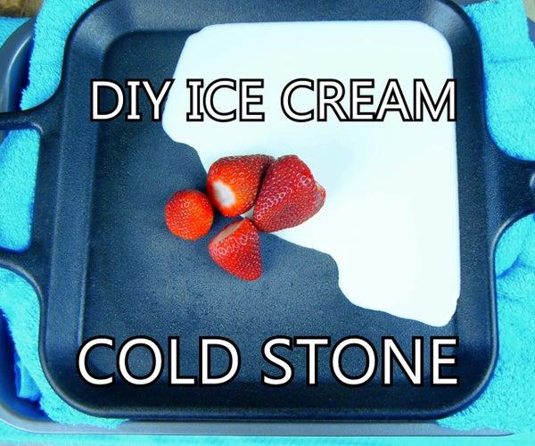 DIY Ice Cream Cold Plate W/ Frying Pan