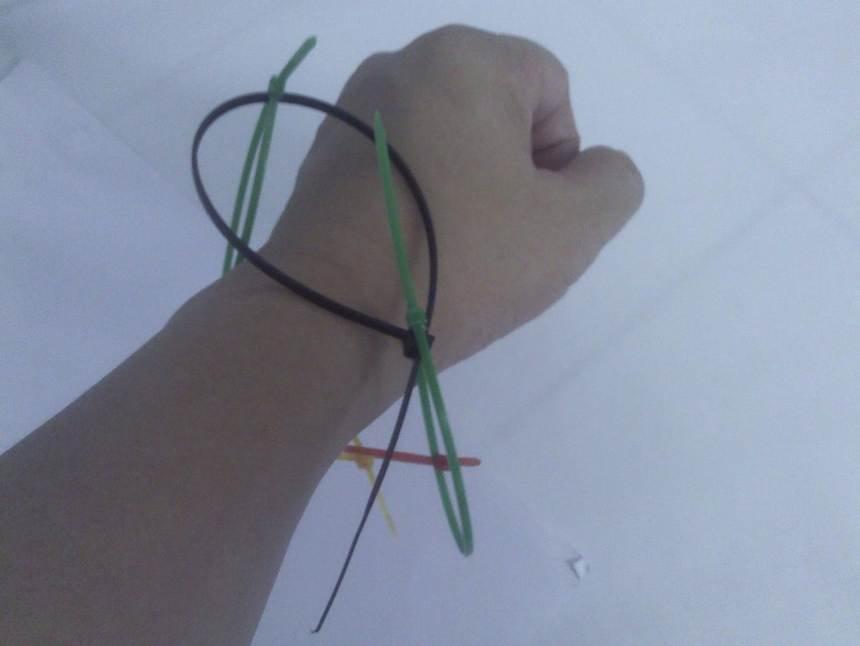 Cable Ties Bracelet