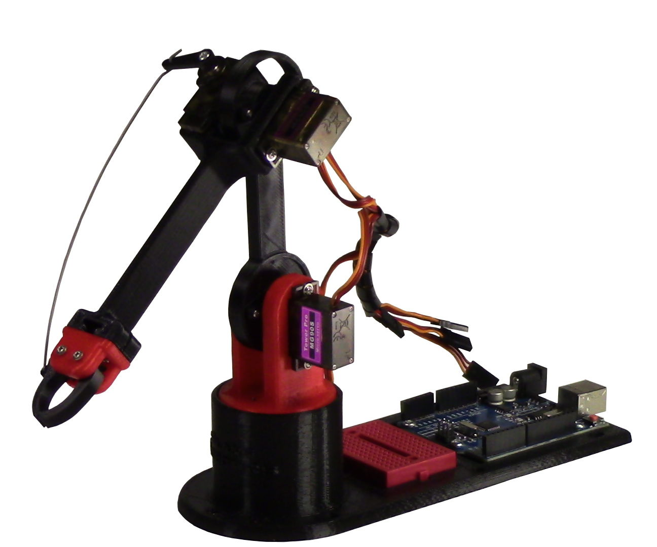 Building a Waldo for the LittleArm Arduino Robot Arm