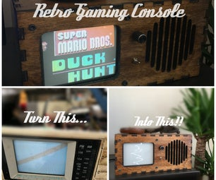 Reuse That Old Thrift Store TV