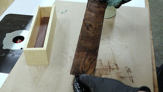 Finishing the Pencil Box