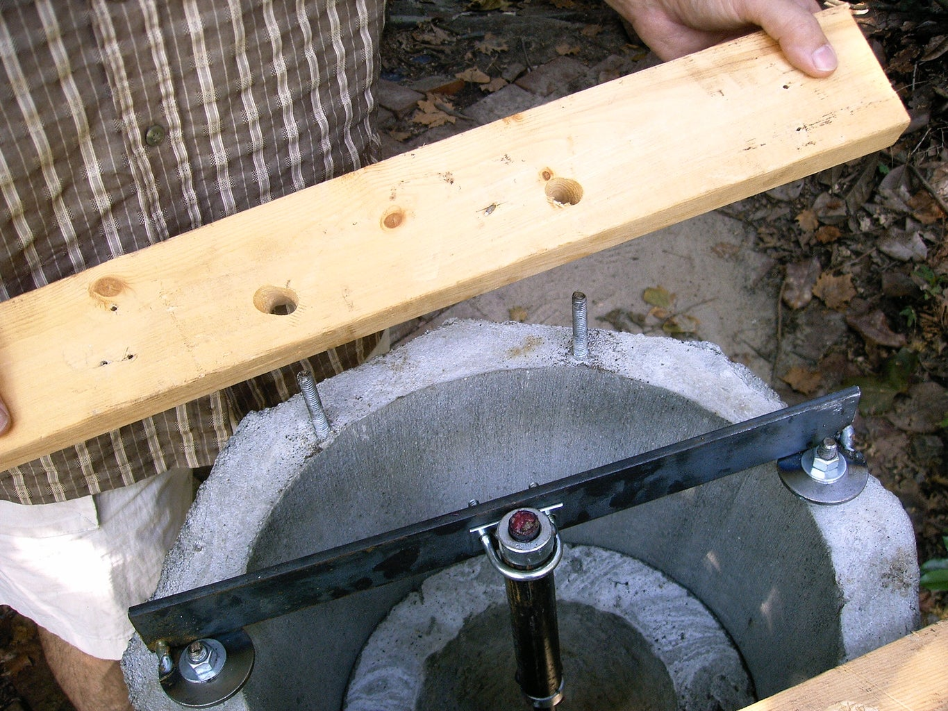 Attach Wooden Supports