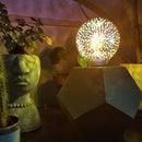 D12/D20 Concrete Lamp Using a 3D Printing Mold