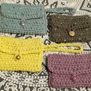 Crocheted Wallet with Beads