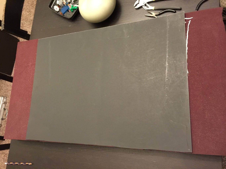 Glue the Poster Board and Foam